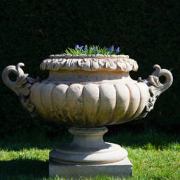 terracotta, large 19th century garden urn